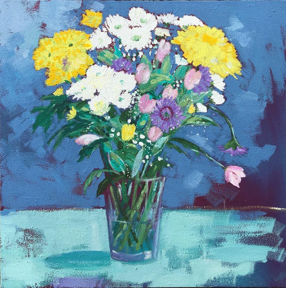 Bloom 60x60 Acrylic on canvas